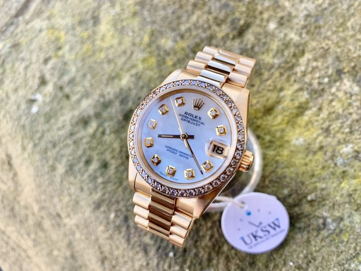 Rolex Datejust President Mid-Size 31mm 18ct Gold 68278