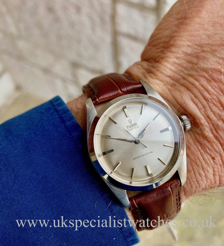 Tudor Oyster Shock Resisting - 1965 Vintage – Small Rose – 7934