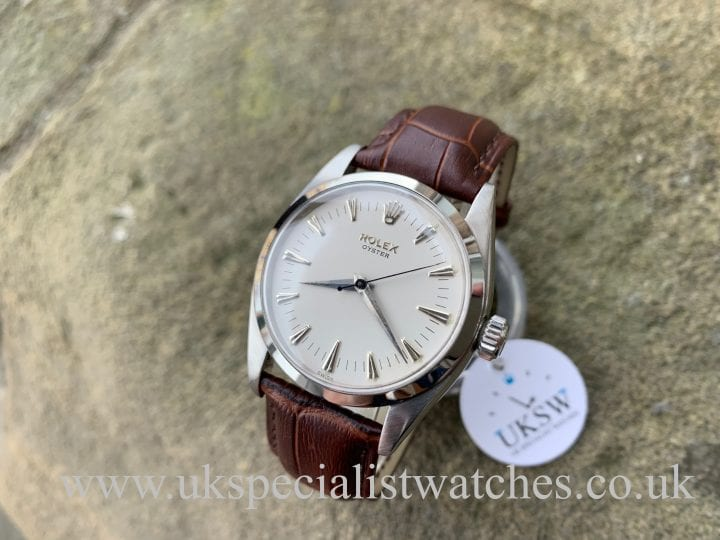 Rolex Oyster Precision 6422 Brevet + Stainless Steel - Vintage 1954