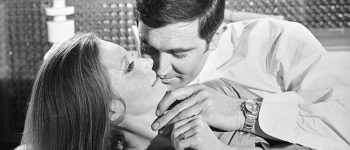 Catherina Von Schnell, George Lazenby as James Bond wearing the Rolex watch in On Her Majesty's Secret Service. Photograph: Studio SEBERT/Artcurial
