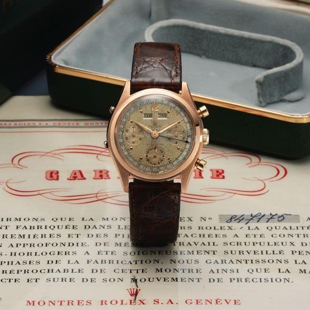 Rolex – Muller – Chopard Antiquorum Watch Sale in Hong Kong