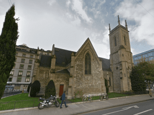 Clock in church has been secretly maintained by Rolex for 70 years