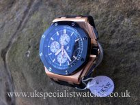 UK Specialist Watches have a Audemars Piguet Royal Oak Offshore 18ct Rose Gold -26401RO.OO.A002CA.01
