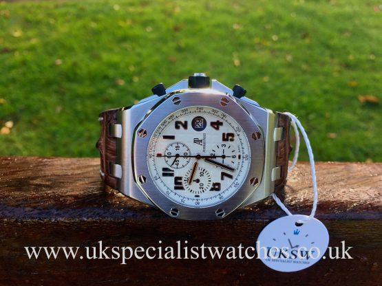 UK Specialist Watches have a Audemars Piguet Royal Oak Offshore Safari - 26170ST.OO.D091CR.01