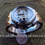 UK Specialist Watches have a Audemars Piguet Royal Oak Offshore Safari - 26170ST.OO.D091CR.01