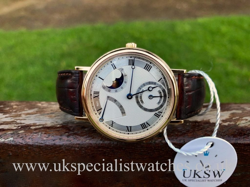 Breguet Classique Moonphase 3130 – 18ct Yellow Gold
