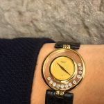 UK Specialist Watches have a Chopard 18ct Yellow Gold - Happy Diamonds - 1087