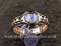 UK Specialist Watches have a Ebel Beluga Lady - 18ct Yellow Gold - Diamond Bezel - 866940