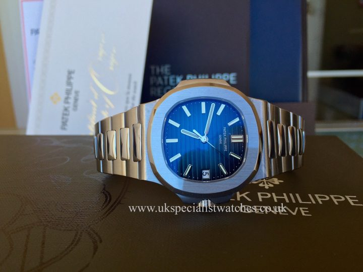 UK Specialist watches have a brand new unworn August 2016 Patek Philippe Nautilus 5711/1A.