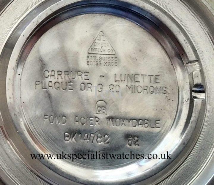 UK Specialist Watches have Omega Carrure Lunette 1962 Vintage