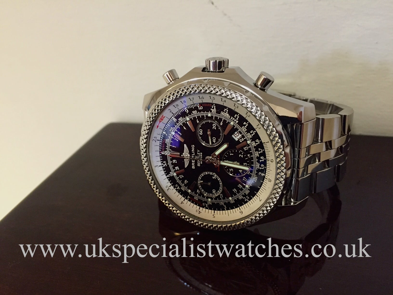 Breitling bentley motors special edition a25362 rolex for Breitling 1884 bentley motors special edition a25362