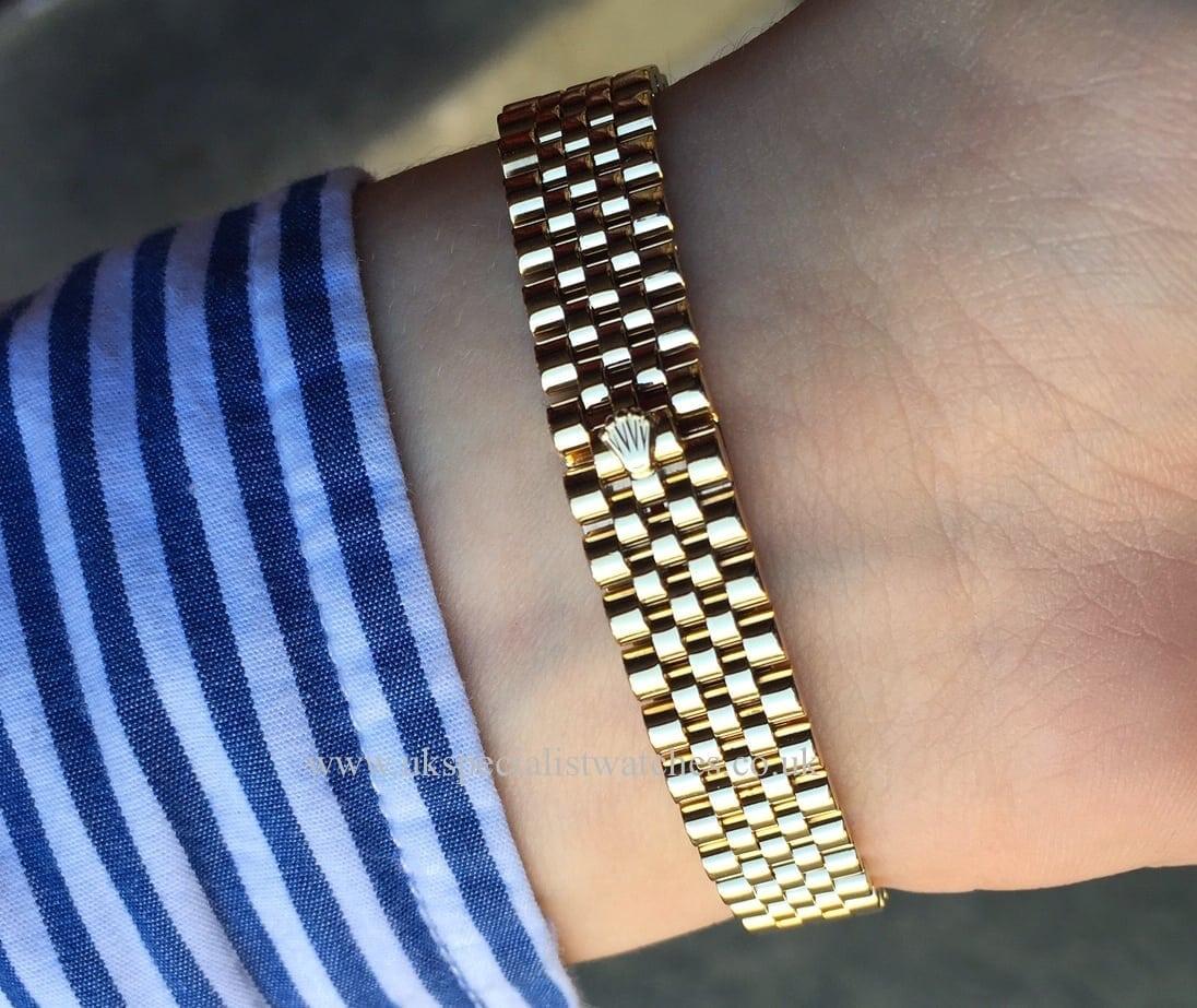 Rolex Lady Datejust Gold Jubilee bracelet – 69178 - UK ...