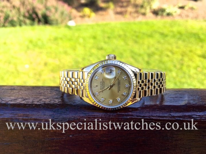 UK specialist watches have a Rolex Lady Datejust with a 18ct Gold Jubilee bracelet – 69178