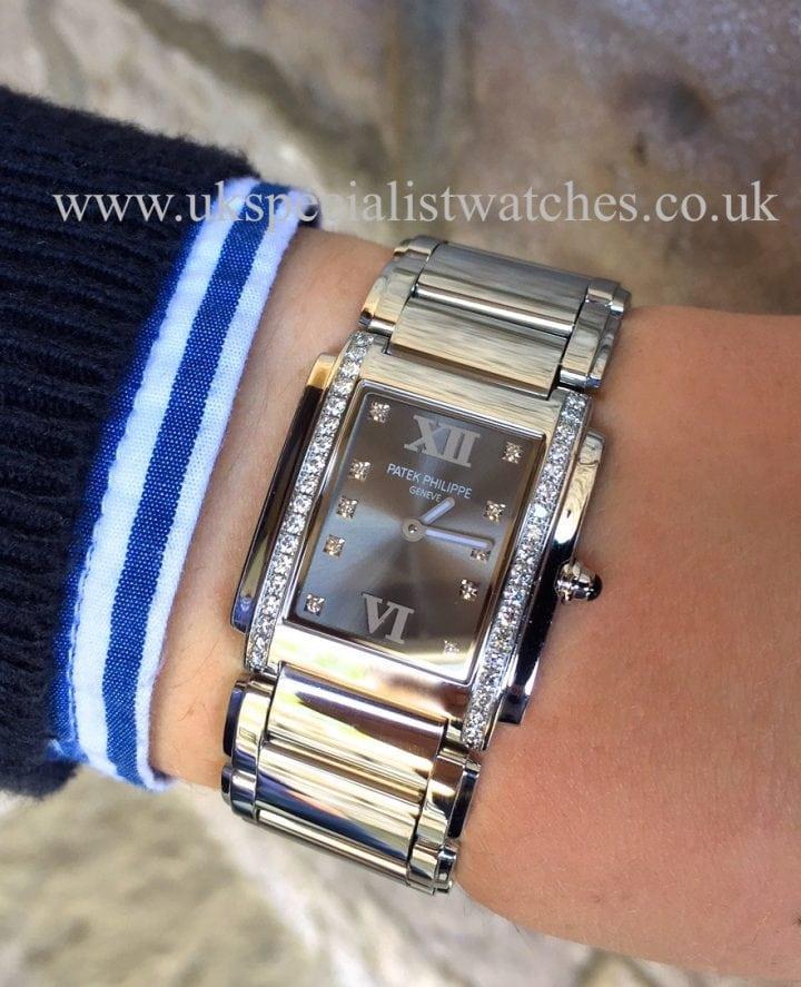 UK Specialist watches have a Patek Philippe Twenty-4 Diamond Ladies - 4910-10A-011