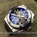 UK Specialist watches have a newHublot King Power Unico Titanium - with model ref no. 701.NX.0170.RX