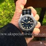 UK Specialist Watches have a 1968 vintageTudor Submariner Snowflake 7021 with the red /black roulette date wheel