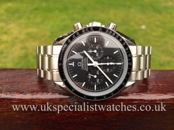 UK Specialist Watches have a new unused Omega Speedmaster Professional Moonwatch - 42mm - 3573.50.00