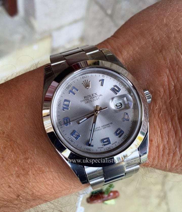 UK Specialist Watches have a brand new Rolex Datejust II 41mm Silver Dial - New Unused - 116300