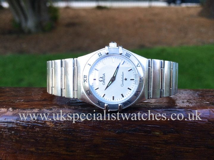 omega ladies constellation steel
