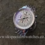 UK Specialist Watches have a very rare Breitling Navitimer Montbrillant limited edition - A30030-4