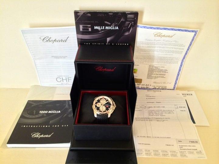 Chopard Mille Miglia 'Brescia Roma' Limited edition