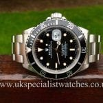 A stunning example of the traditional Rolex Submariner 16610 available at UK Specialist Watches complete with box & papers