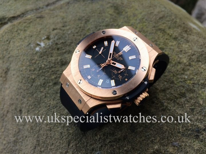 For sale at UK Specialist Watches Hublot 18ct Rose Gold 44mm Big Bang - 301 PX 1180 RX