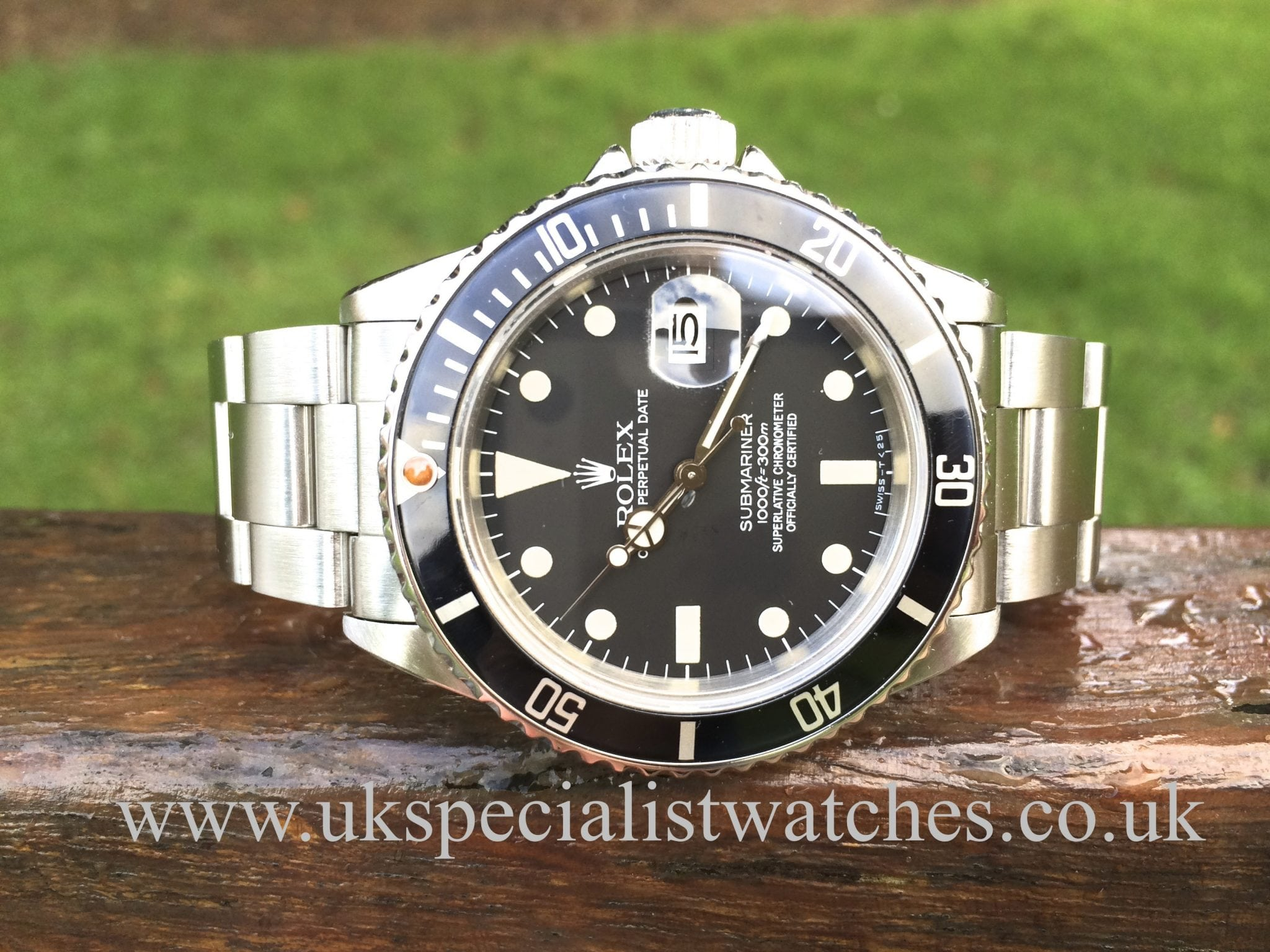 Rolex Submariner Date 16800 Transitional Dial