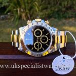 UK Specialist Watches have a rare 1991 Rolex Daytona Zenith bi-metal with an inverted 6 dial - 16523