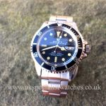 UK Specialist Watches have a vintage Rolex Submariner 1860 Red Writing - 1971