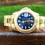 Rolex Yacht-master mid-size 35mm Yellow gold 68628