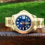 Rolex Yacht-master mid-size 35mm 18ct Yellow gold 68628