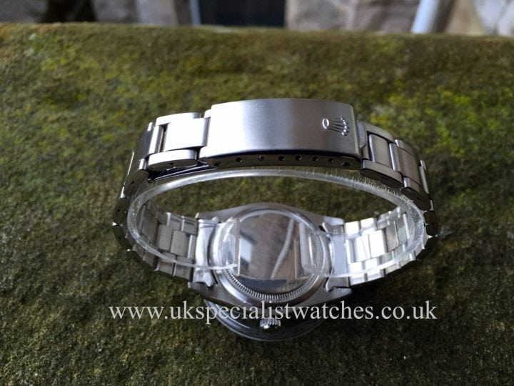 UK Specialist Watches have a vintage 1972 Rolex Oysterdate Precision in Stainless Steel 6694