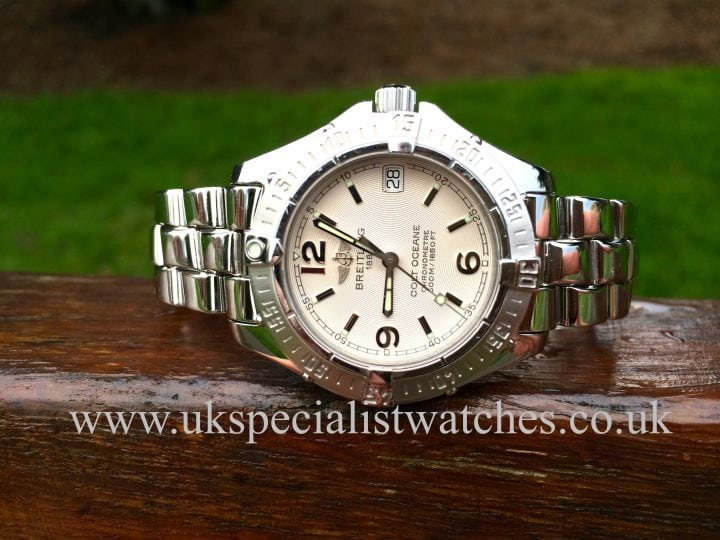 "for sale Breitling Colt Ocean 33 ""ladies"" A77350"
