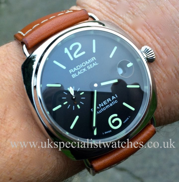 uk specialist watches Panerai Radiomir Blackseal PAM 287
