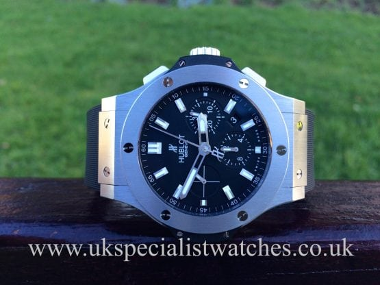 For sale at UK Specialist Watches 2014 Hublot Big Bang Steel Evolution – 301 SX 1170 RX