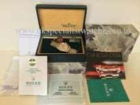 """For sale at UK Specialist Watches Rolex Datejust Gold & Steel """"full set"""" Vintage 16013"""