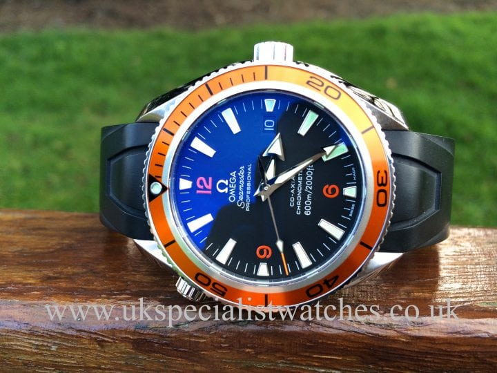 for sale at uk specialist watches Omega Seamaster Planet Ocean Co-Axial 2909 50 38