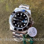 UK Specialist Watches have a 2016 new Unused Rolex Submariner 116610LN