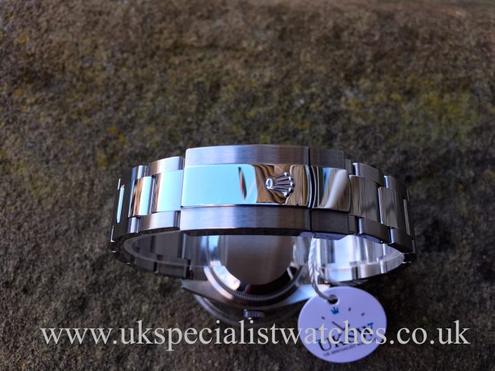 UK Specialist Watches have a Rolex Datejust with a rare bullseye dial in stainless steel - 116234
