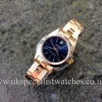 Rolex Lady Oyster Perpetual 18ct Gold 67198 available at UK Specialist Watches