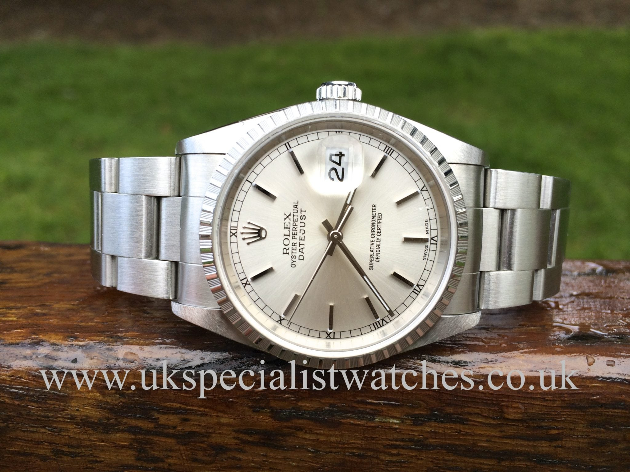 Rolex Datejust Gents 36mm-Oyster Bracelet 'New old stock' 16220