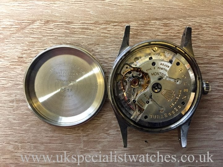 UK Specialist Watches have an original Rolex Vintage Deepsea 6532 Oyster Perpetual