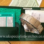 For sale at UK Specialist Watches Rolex Sea-Dweller Classic Sapphire 16600
