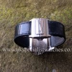 UK Specialist Watches have a mid size Cartier Santos 100 in Stainless Steel