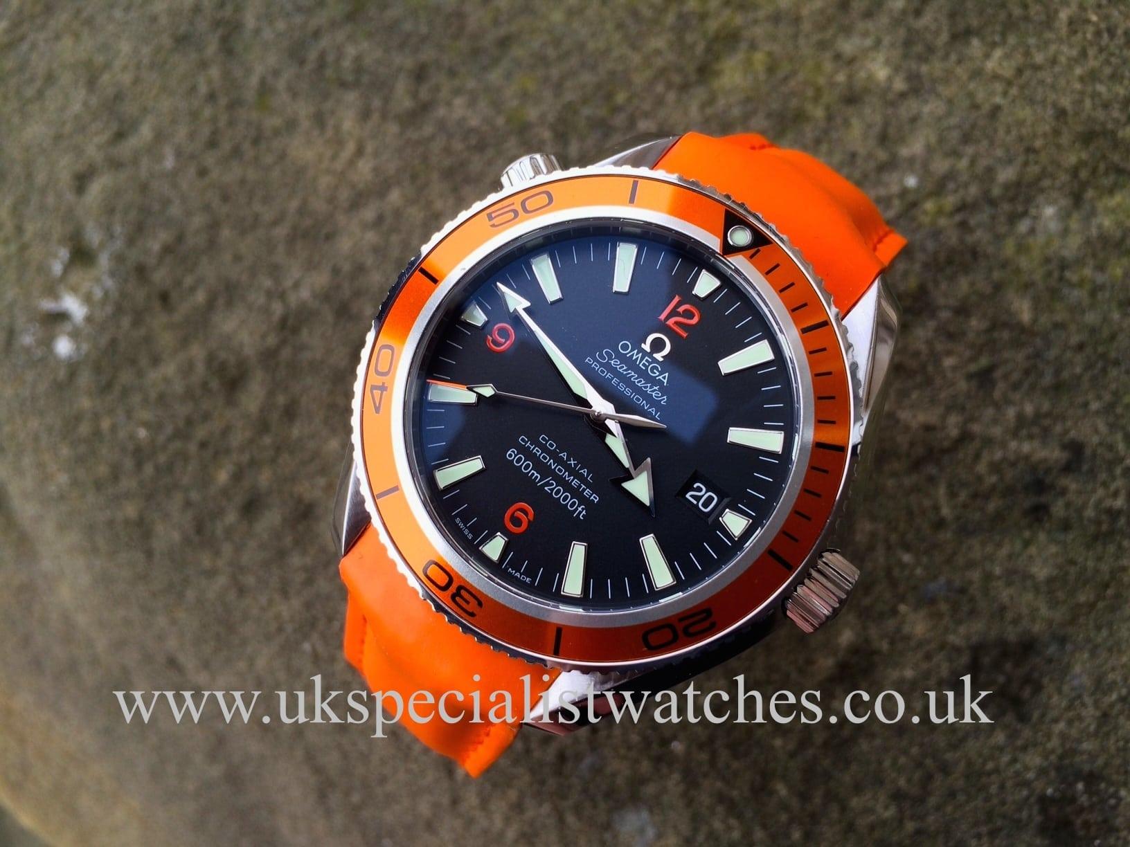 Omega Seamaster Planet Ocean Co Axial 29095083 Uk