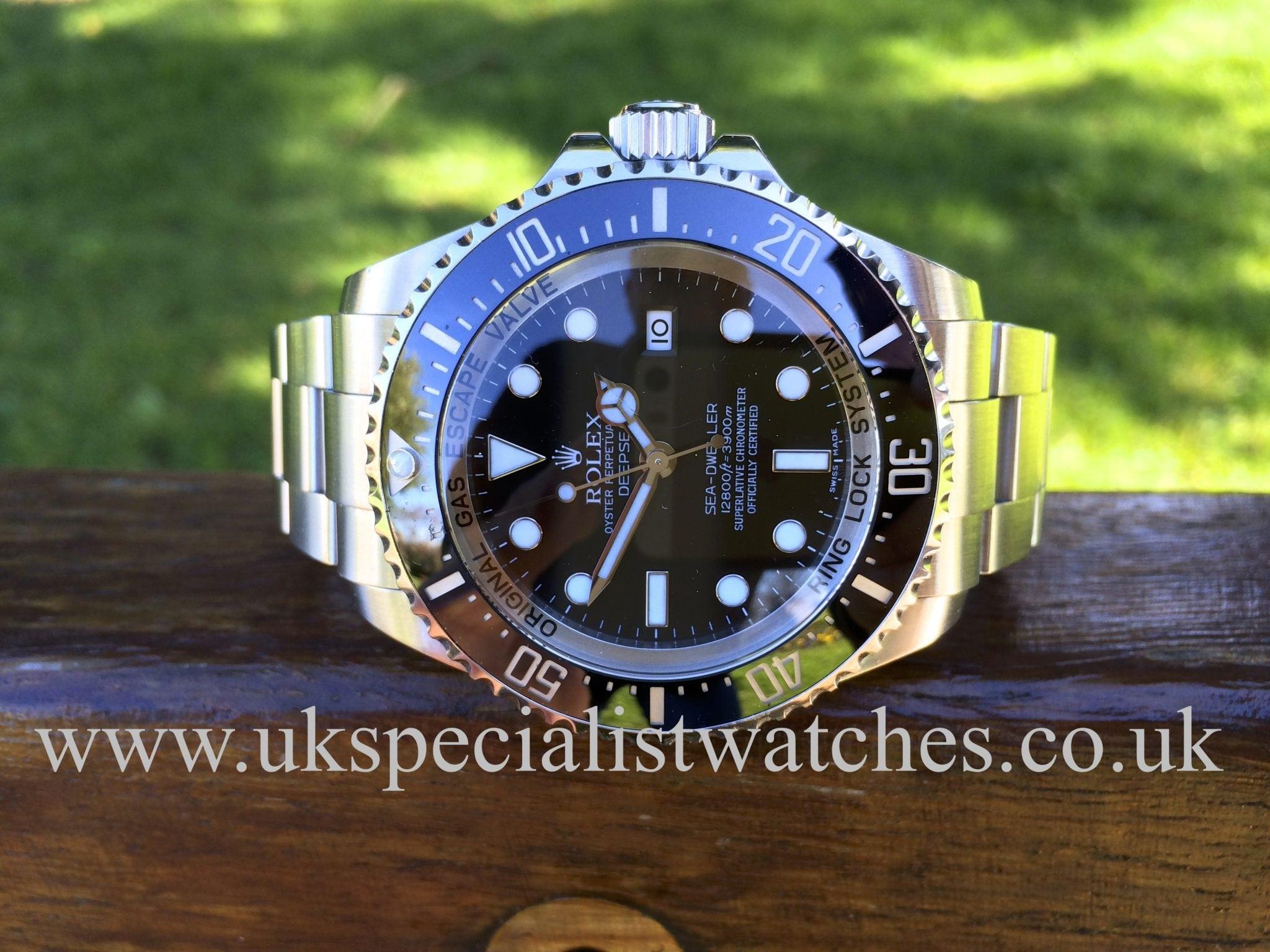 Rolex Sea-Dweller 1st Series 44mm Deepsea 116660