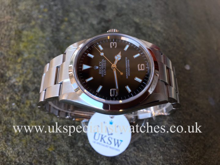 UK Specialist Watches have a beautiful Rolex Explorer 114270 for sale