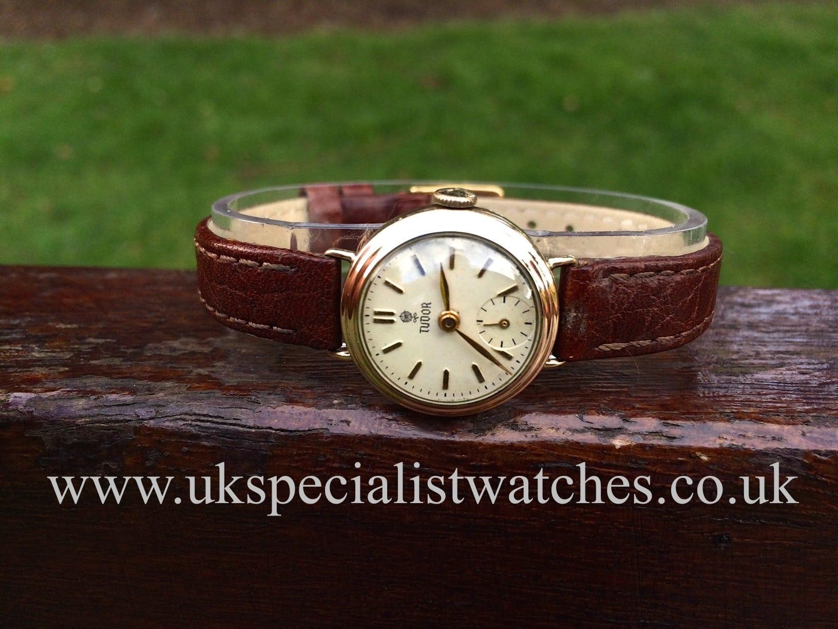Rolex Tudor 9ct Gold Ladies 1959 Vintage