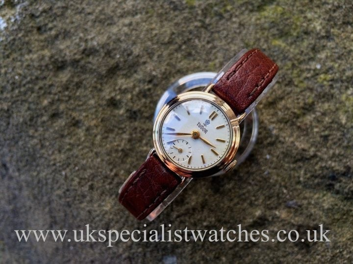 UK Specialist Watches have a Rolex Tudor 9ct Gold Ladies - 1959 Vintage